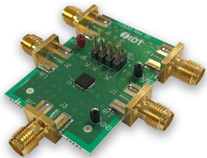 F2933EVBI - Evaluation Board for High Reliability SPDT Absorptive RF