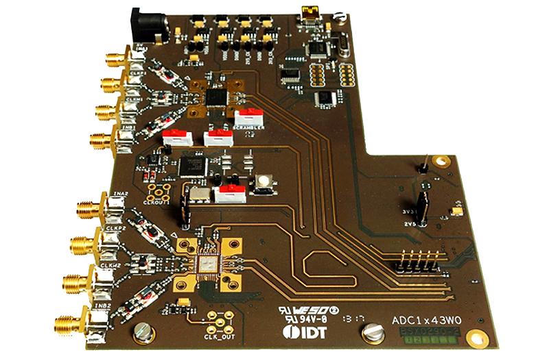 ADC1443D160WO - ADC1443D160W0 demo board