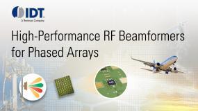 Phased Array Beamformers, RF Beam Steering ICs | IDT